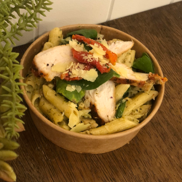 Creamy pesto penne (individually packed)