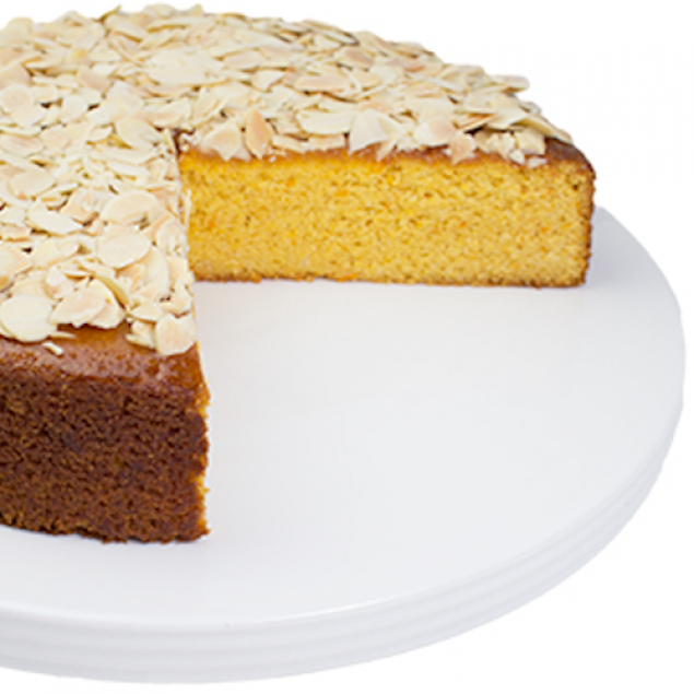 GF Flourless orange & almond cake - 20cm