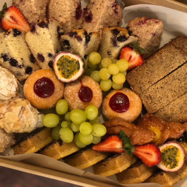Assorted baked goodies & slices
